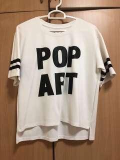 yishion t shirt in white