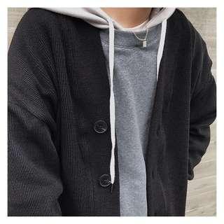 男裝針織粗線冷衫