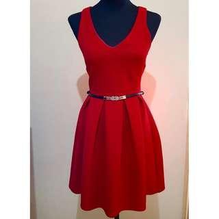 Topshop Red Dress