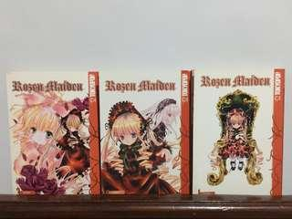 Rosen Maiden vol.1-3 English Manga
