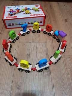 🚚 數字火車益智玩具