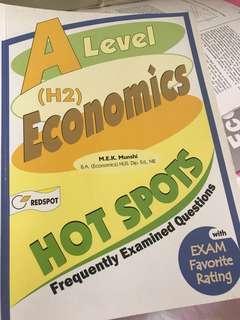 A level H2 economics Hot Spots