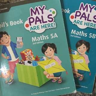 My Pals Are Here! Math 5A & 5B