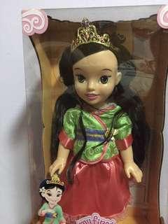 My first Disney princess Mulan doll