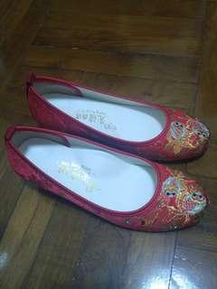 結婚繡花鞋
