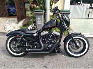 Sambung Bayar Harley Davidson 48 cc1200