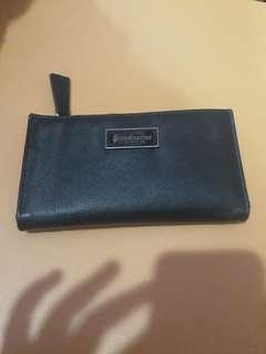 stradivarius wallet black