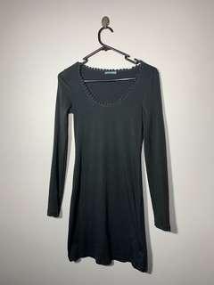 Kookai long sleeve dress