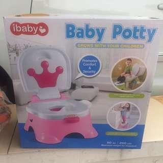 Ibaby potty training