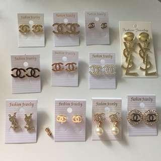 PREORDER Chanel/YSL/Dior/LV Earrings