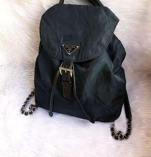 100% authentic prada backpack