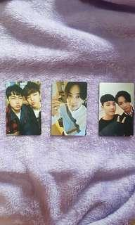 WTS OFFICIAL GOING SEVENTEEN PHOTOCARDS