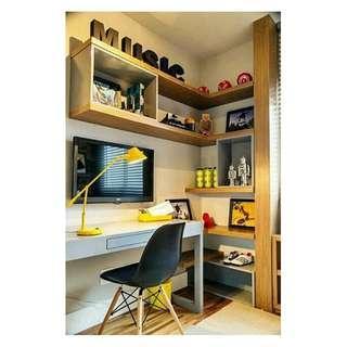 Wall Shelves Rak Buku Mainan Multifungsi Bahan Kayu Untuk di Kamar