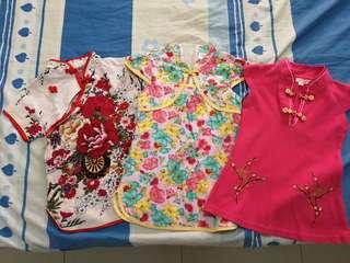 P.L Assorted Cheongsam for toddlers