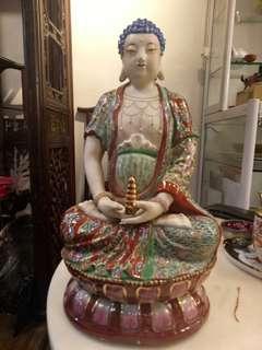 Medicine Buddha procelin