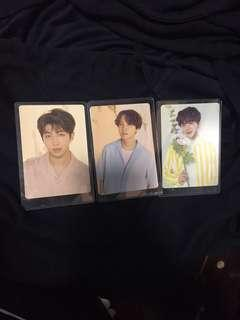 BTS love yourself tour mini photocard