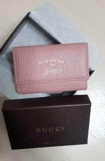 BNIB Gucci Leather Key Pouch