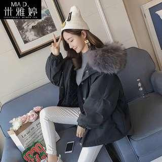 Woman Parka with Removable Fur