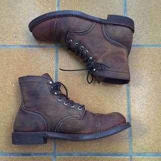 美國製 Red Wing 8115 IRON RANGER Boots 瘋馬皮 工作靴 RW 工裝靴 7.5D