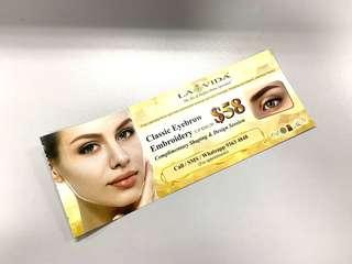 La Vida Eyebrow Shaping Discount Coupon