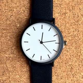 Bauhaus Monochrome watch