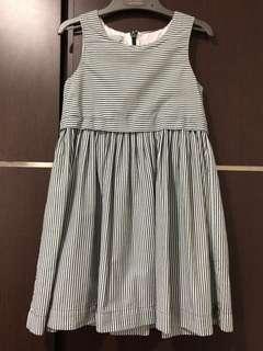 Pre-loved COS stripes sleeveless dress
