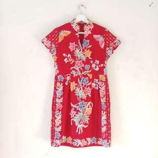 🚚 Batik Cheongsam dress