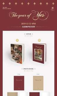 (Group Order) TWICE The Year of Yes Album Group Order
