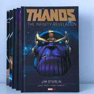 Thanos Hardcovers by Jim Starlin