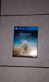 Game BD PS 4 Assassins Creed Origins (Deluxe Edition)