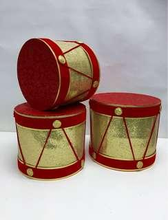 Deco Items - Hand Crafted Drums 4pcs