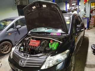 Airwave fuel pump motor replacement