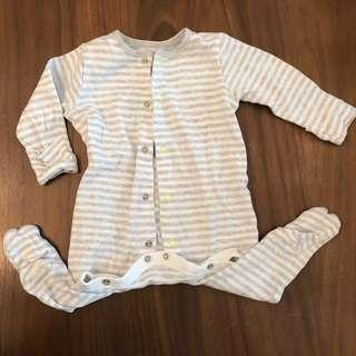 (Preloved) Mothercare Sleepsuit