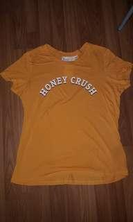 bnwt H&M honey crush shirt