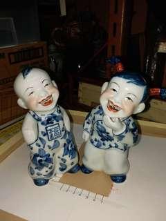 中國娃娃一对