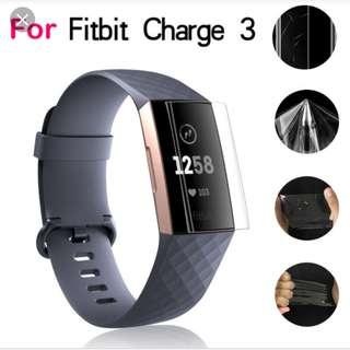Fitbit Charge 3 Screen Protect Protector Premium Quality 1 piece