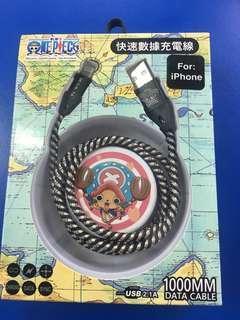 🆕正版航海王iPhone 傳輸線