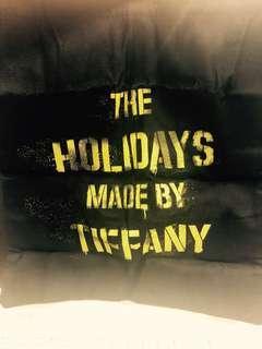 •••Xmas SALE••• Tiffany & Co. Xmas tote bag