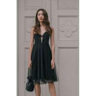 🚚 Young Hungry Free JUST HITCHED DRESS IN BLACK