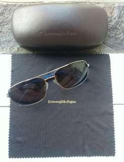 Ermenegildo Zegna Aviator Sunglasses Italy AUTHENTIC Zeiss Complete