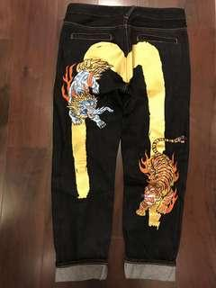 龍虎Pants - waist 32-33