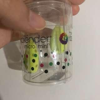 preloved!! Beauty Blender Micro Mini Sponge - Green