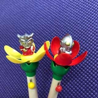 咸蛋超人花花筆2支