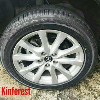 Tyre- Kinforest. Mazda 6 🙋‍♂️ R17 sizes from $90