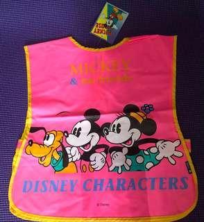 Disney 小朋友圍裙 (包前面背面)有2款