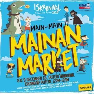Jumpa esok di Iskarnival Main Main!