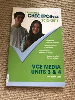 Cambridge Checkpoints Media Unit 3 & 4