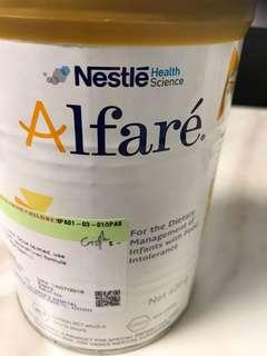 Nestle Alfare formula from birth onwards (NEW)