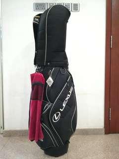 Lexus Golf Bag with teflon fabric protector