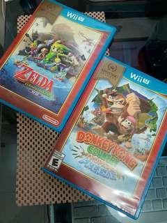 WiiU games x2